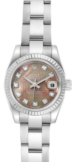 Preload https://img-static.tradesy.com/item/26230595/rolex-tahitian-mother-of-pearl-datejust-steel-white-mop-diamond-ladies-1791-watch-0-1-540-540.jpg
