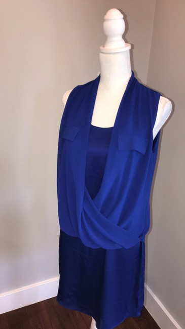 The Limited short dress blue on Tradesy Image 1