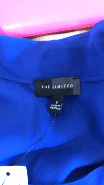 The Limited short dress blue on Tradesy Image 5
