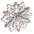 Ritz Couture by Esme Hecht Winter Wonderland Snowflake (Silvertone)