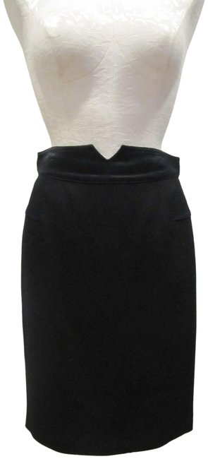 Item - Black Pencil Straight Skirt Size 8 (M, 29, 30)