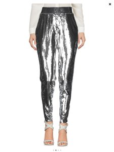 Michael Kors Relaxed Pants Silver