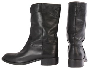 Chanel Casual Black Boots