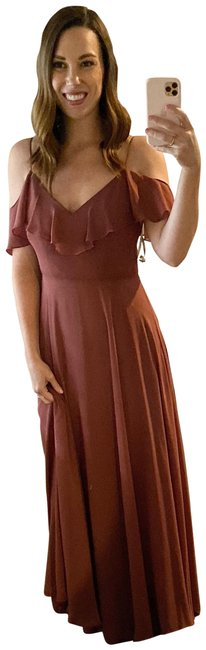 Item - Cinnamon Rose Mila Convertible Long Formal Dress Size 4 (S)