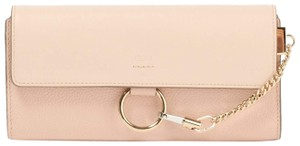 Chloe Chloe Faye Cement Pink Long Wallet