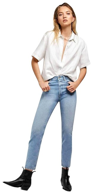 Preload https://img-static.tradesy.com/item/26232700/anine-bing-blue-light-wash-peyton-ankle-straight-leg-jeans-size-26-2-xs-0-1-650-650.jpg