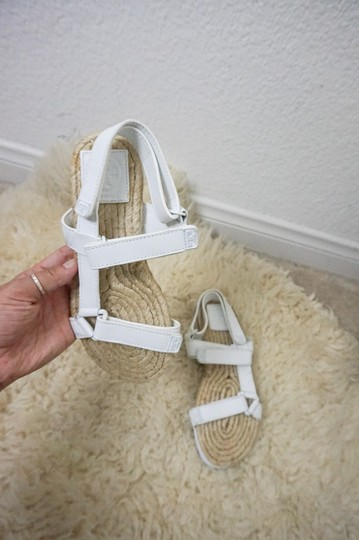 Tory Burch Espadrille Chunky White Sandals Image 2