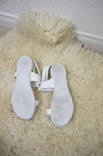 Tory Burch Espadrille Chunky White Sandals Image 3
