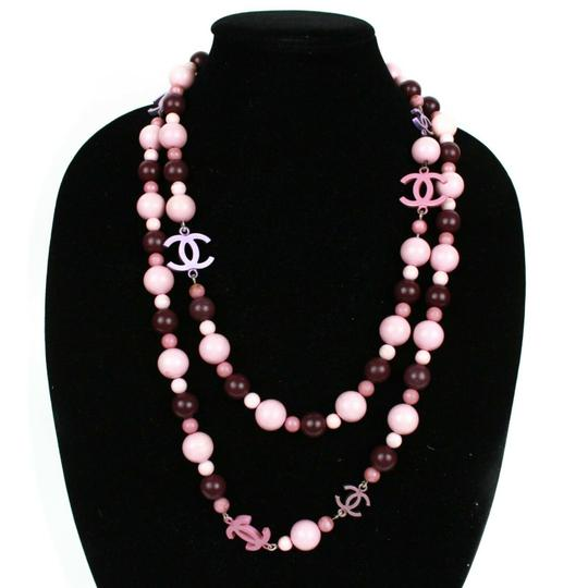 Preload https://img-static.tradesy.com/item/26232758/chanel-pink-and-purple-54-long-pearl-wooden-beads-charms-necklace-0-0-540-540.jpg