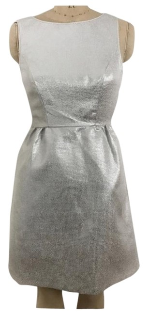 Preload https://img-static.tradesy.com/item/26232771/erin-fetherston-silver-bow-back-mid-length-cocktail-dress-size-2-xs-0-1-650-650.jpg