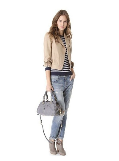 Marc by Marc Jacobs Satchel in Cement Image 5