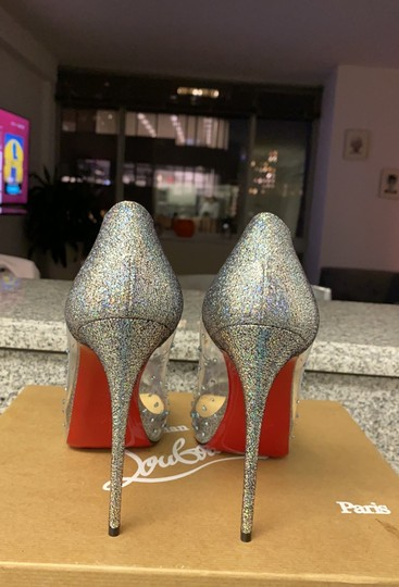 Christian Louboutin version silver Platforms Image 2