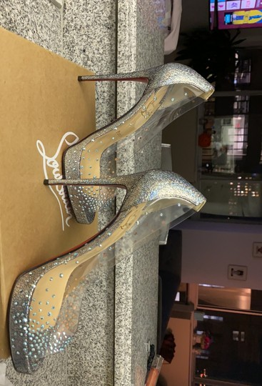 Christian Louboutin version silver Platforms Image 8