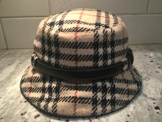 Burberry Chic and Stylish 100% Wool Belted Black Fedora Image 3
