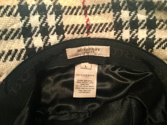 Burberry Chic and Stylish 100% Wool Belted Black Fedora Image 5