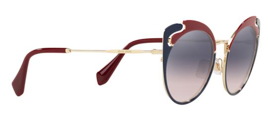 Miu Miu New Cat Eye With Case SMU 57t hb5gr0 Free 3 Day Shipping Image 10
