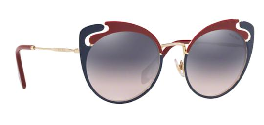 Miu Miu New Cat Eye With Case SMU 57t hb5gr0 Free 3 Day Shipping Image 2