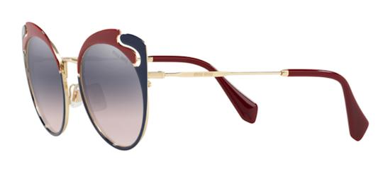 Miu Miu New Cat Eye With Case SMU 57t hb5gr0 Free 3 Day Shipping Image 6
