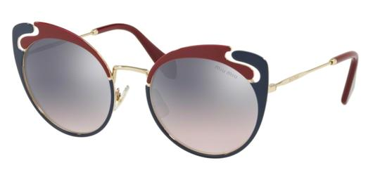 Miu Miu New Cat Eye With Case SMU 57t hb5gr0 Free 3 Day Shipping Image 7
