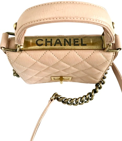 Chanel Leather Quilted Mini Chain Shoulder Bag Image 1