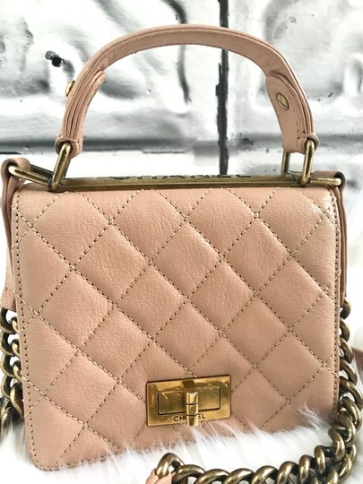 Chanel Leather Quilted Mini Chain Shoulder Bag Image 3