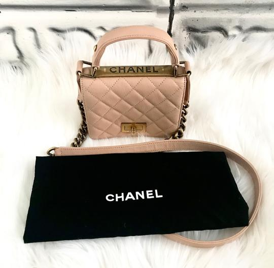 Chanel Leather Quilted Mini Chain Shoulder Bag Image 4