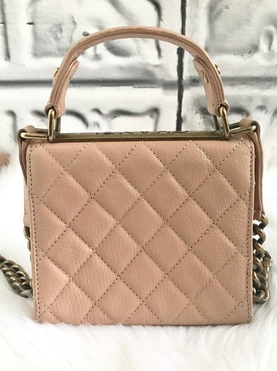 Chanel Leather Quilted Mini Chain Shoulder Bag Image 5