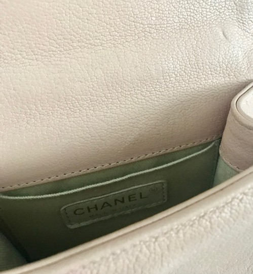 Chanel Leather Quilted Mini Chain Shoulder Bag Image 6