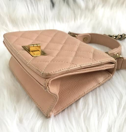 Chanel Leather Quilted Mini Chain Shoulder Bag Image 8