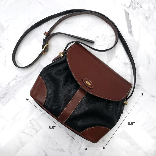Bally Vintage Leather Cross Body Bag Image 10