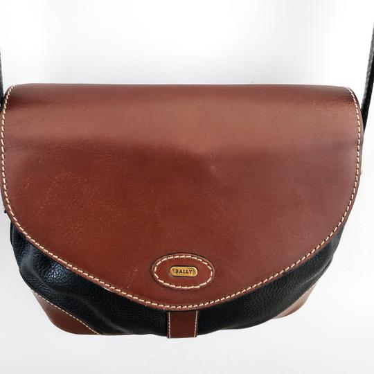 Bally Vintage Leather Cross Body Bag Image 4