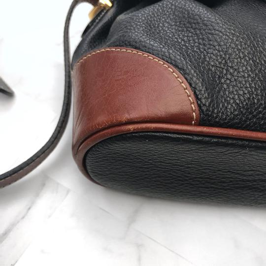 Bally Vintage Leather Cross Body Bag Image 6