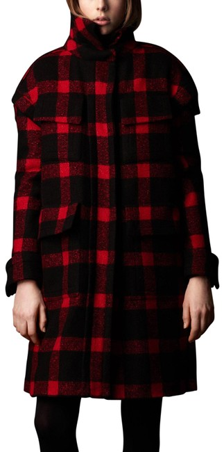 Preload https://img-static.tradesy.com/item/26233137/burberry-red-and-black-cocoon-prorsum-sculptured-tartan-wool-runway-model-coat-size-8-m-0-2-650-650.jpg