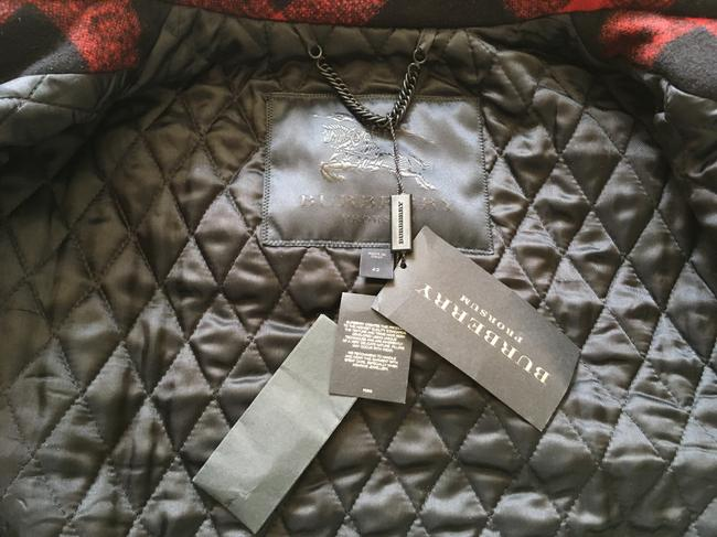 Burberry Sculptured Cocoon Taratan Runway Model Pea Coat Image 10