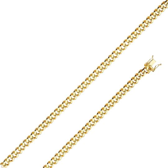 Preload https://img-static.tradesy.com/item/26233189/yellow-14k-65mm-miami-cuban-chain-26-necklace-0-1-540-540.jpg