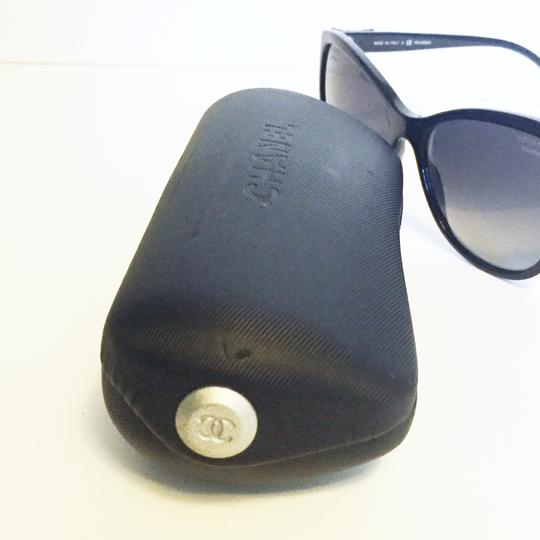 Chanel Chanel 5281 butterfly polarized ribbon black sunglasses with case Image 7