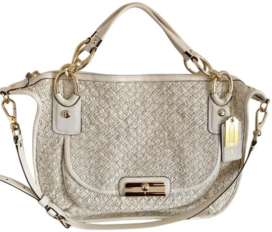 Preload https://img-static.tradesy.com/item/26233244/coach-special-edition-beige-woven-leather-satchel-0-2-540-540.jpg