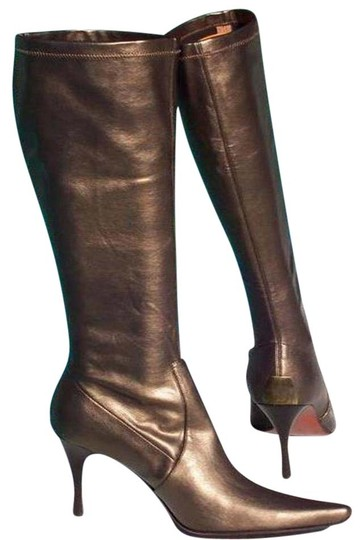 Preload https://img-static.tradesy.com/item/26233268/donald-j-pliner-bronze-couture-metallic-leather-new-stretch-nappa-bootsbooties-size-us-65-regular-m-0-1-540-540.jpg
