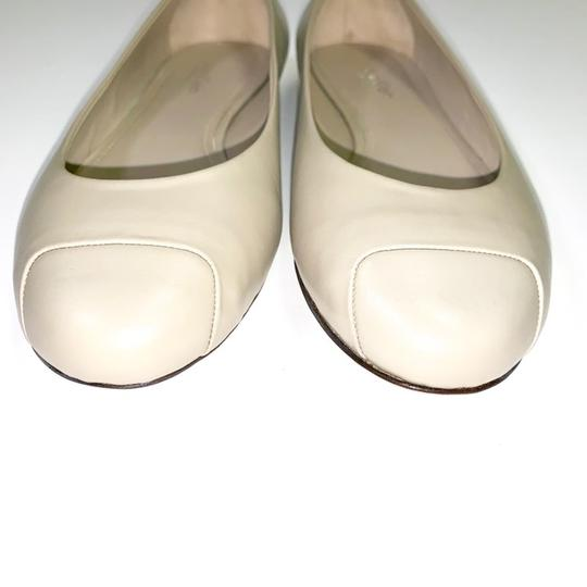 Calvin Klein Collection Alba Ii Made In Italy Nude Flats Image 2