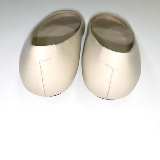Calvin Klein Collection Alba Ii Made In Italy Nude Flats Image 3