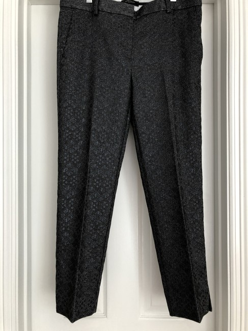 Ann Taylor Straight Pants Black Image 2