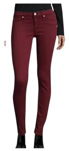 Hudson Super Factory Distressed Skinny Jeans-Distressed