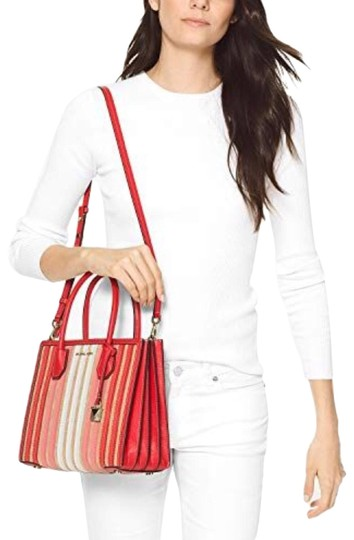 Michael Kors Tote in Ruby Red Image 1