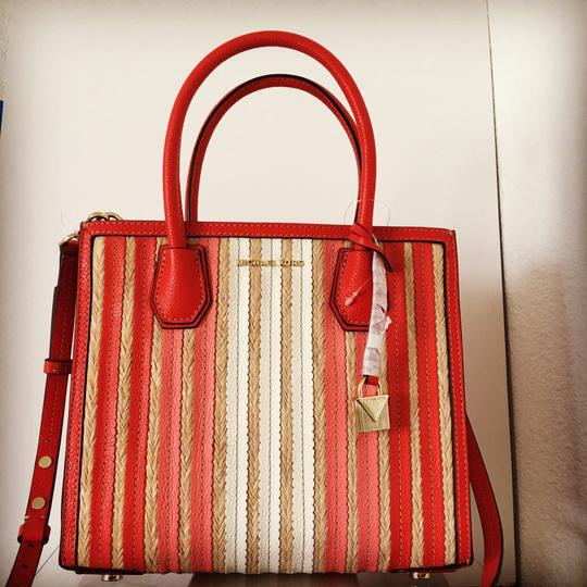 Michael Kors Tote in Ruby Red Image 8