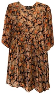 Angie short dress Floral 90s Grunge Fall Spring on Tradesy