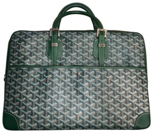 Goyard Green Travel Bag