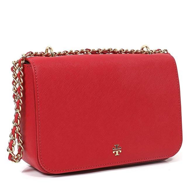 Item - Shoulder Emerson Adjustable Poppy Orange Saffiano Leather Cross Body Bag