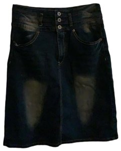 Be Girl Skirt dark denim