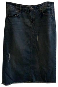 Max Jeans Skirt denim