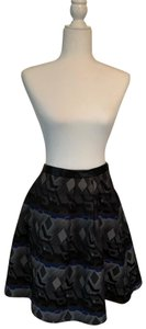 Hilton Hollis Skirt black and blue